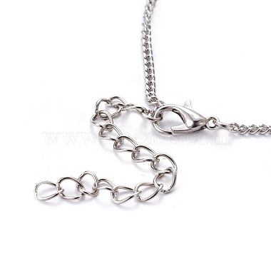 Tibetan Style Alloy Branch and Leaves Pendant Necklaces(X-NJEW-JN00751)-4