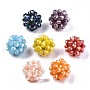 Mixed Color Round Glass Beads(X-GLAA-T024-01C)