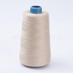 Fil de coton, linge, 0.28 mm; environ 1600 m/rouleau(OCOR-WH0001-03)