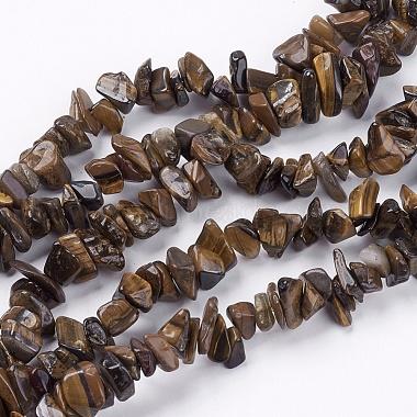 4mm Chocolate Chip Tiger Eye Beads