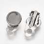 Stainless Steel Color Stainless Steel Earring Components(STAS-S079-81B)