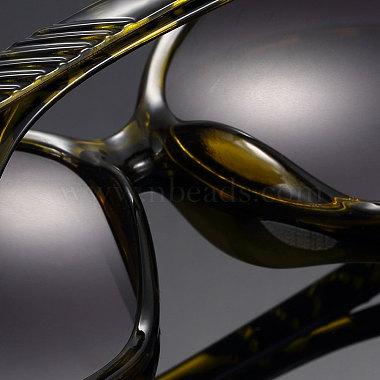 Léopard des femmes de lunettes de soleil d'été oeil de chat(SG-BB14525-1)-4