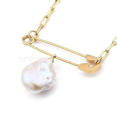 Natural Pearl Pendant Necklaces(NJEW-JN03018-01)-3