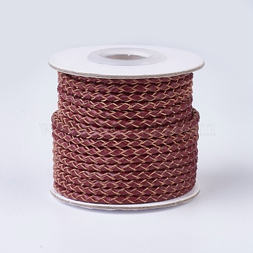 3mm Brown Leather Thread & Cord