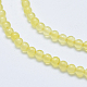 Natural Agate Beads Strands(X-G-K238-02C)-3