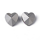 Faceted Heart Electroplated Glass Pendants(X-EGLA-R082-04)-4