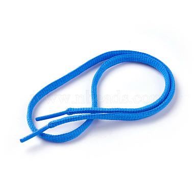 Dodger Blue Polyester Shoelace
