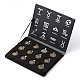 Flat Round with Horoscope/Twelve Constellation/Zodiac Sign 304 Stainless Steel Pendant Sets(STAS-I056-C)-1