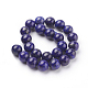 Natural Lapis Lazuli Beads Strands(G-G087-8mm)-2