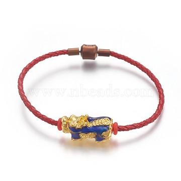 Red Brass Bracelets