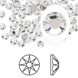 strass cristal autrichien, 2088, passions de cristal, déjouer retour, Xirius rose, 001 _crystal, 4.6~4.8 mm(X-2088-SS20-001(F))