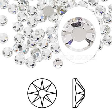 Austrian Crystal Rhinestone, 2088, Crystal Passions, Foil Back, Xirius Rose, 001_Crystal, 4.6~4.8mm(X-2088-SS20-001(F))