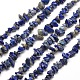 Natural Lapis Lazuli Chip Bead Strands(X-G-M205-14)-1