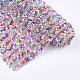 Glitter Hotfix Glass Rhinestone(RB-T012-16B)-2