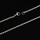 304 Stainless Steel Rope Chain Necklaces(X-STAS-S029-01)-2