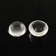 Transparent Half Round Glass Cabochons(X-GGLA-R027-12mm)-1