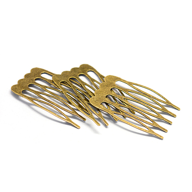 Antique Bronze Iron Hair Comb