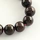 Natural Garnet Gemstone Bead Strands(G-R263-6mm)-1