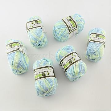 1mm Colorful Bambaoo Fiber+Silk Thread & Cord