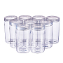 Clear Column Plastic Beads Containers(CON-BC0004-51)