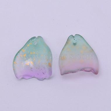 Handmade Foil Glass Beads(FOIL-CJC0002-03B)-2