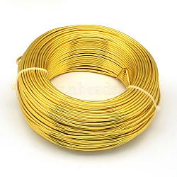 Алюминиевая проволока, золотые, 0.8 мм; о 300 м / 500 г(AW-S001-0.8mm-14)