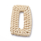 Handmade Reed Cane/Rattan Woven Linking Rings(X-WOVE-Q075-19)-2