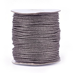 Cordon de polyester, midnightblue, 2 mm; 100 yards / rouleau (300 pieds / rouleau)(OCOR-E017-01A-13)
