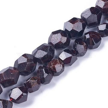 12mm Round Garnet Beads