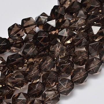 12mm Polygon Citrine Beads