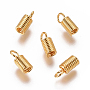 Golden Stainless Steel Coil Cord End(STAS-I120-28B-G)