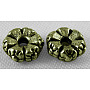 Antique Bronze Flower Alloy Spacer Beads(X-MLF0280Y-NF)