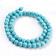 Synthetic Turquoise Beads Strands(X-TURQ-S192-8mm-2)-2