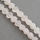 Natural Rose Quartz Stone Beads Strands(G-R182-19)-1