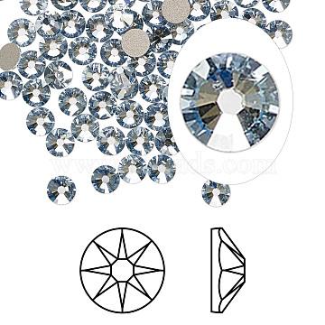 Austrian Crystal Rhinestone, 2088, Crystal Passions, Foil Back, Xirius Rose, 001 BLSH_Crystal Blue Shade, 4.6~4.8mm(X-2088-SS20-001BLSH(F))