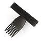 Plastic Hair Bangs Fluffy Hair Styling Tools(OHAR-R095-46)-4