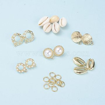 Mixed Material Earring Making