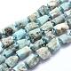 Natural Larimar Beads Strands(G-O170-55B)-1