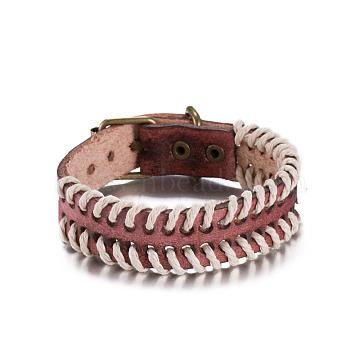 IndianRed Leather Bracelets