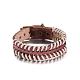 Casual Unisex Braided Leather Bracelets(BJEW-BB15591)-1