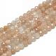 Natural Sunstone Beads Strands(G-S300-15-3mm)-1