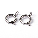 304 Stainless Steel Smooth Surface Spring Clasps(STAS-D149-04)-1
