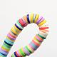 Handmade Polymer Clay Beads(X-CLAY-R067-4.0mm-M1)-2