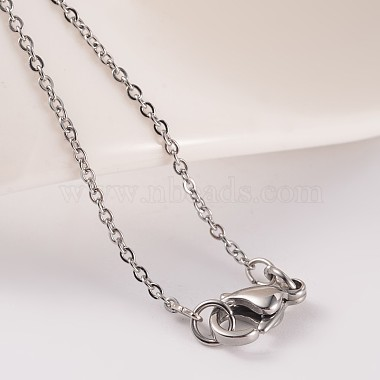 304 Stainless Steel Cable Chain Necklaces(NJEW-JN01526-02)-4