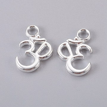 Silver Mark Alloy Charms