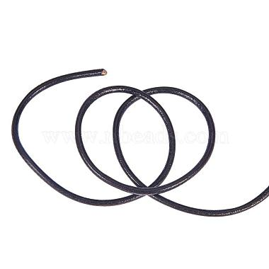 Round Leather Necklace Cords for Bracelet Neckacle Beading Jewelry Making(X-WL-A002-18)-3