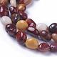Chapelets de perles en mookaite naturelles(X-G-P433-17)-3