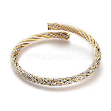регулируемый 304 расширяемый браслет из нержавеющей стали(BJEW-M286-02)-1