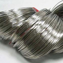 fil à mémoire de l'acier, bracelets faisant, sans nickel, l'autre couleur, 50 mm de diamètre, 0.6 mm d'épaisseur; 2400 cercles / 1000 g(MW5.0CM-NF)