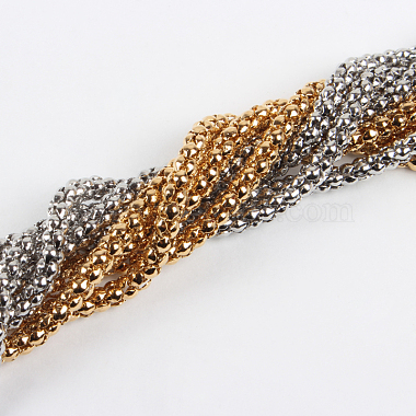 304 Stainless Steel Popcorn Necklace Making(STAS-P046-11)-2